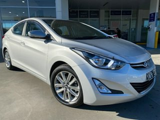 2015 Hyundai Elantra MD3 Elite Silver 6 Speed Sports Automatic Sedan.