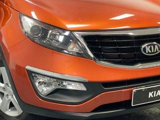 2014 Kia Sportage SL MY14 Si 2WD Orange 6 Speed Manual Wagon.