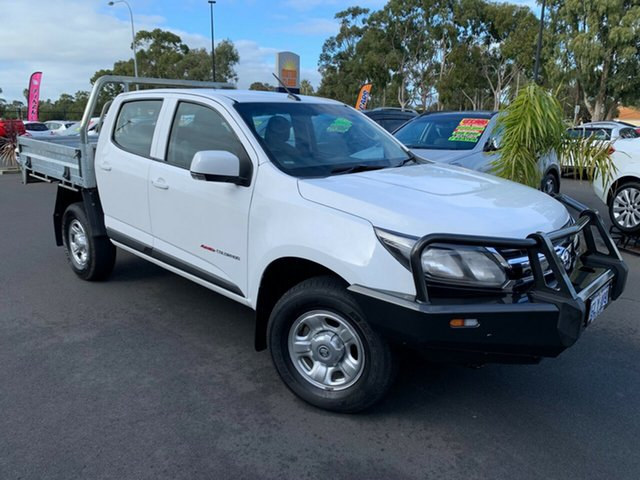 Used Holden Colorado RG MY18 LS Pickup Crew Cab Bunbury, 2018 Holden Colorado RG MY18 LS Pickup Crew Cab White 6 Speed Sports Automatic Utility