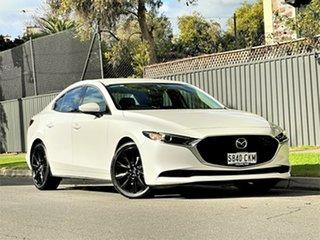 2019 Mazda 3 BP2SLA G25 SKYACTIV-Drive GT White 6 Speed Sports Automatic Sedan.