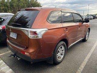 2013 Mitsubishi Outlander ZJ MY13 ES 4WD Rust/ 6 Speed Constant Variable Wagon.