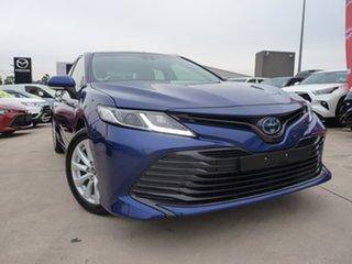 2019 Toyota Camry AXVH71R Ascent Lunar Blue 6 Speed Constant Variable Sedan Hybrid.