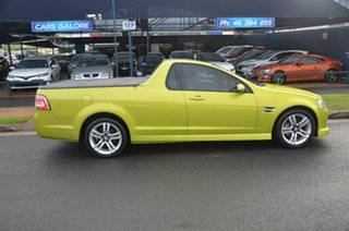 2008 Holden Commodore VE MY09.5 SV6 Green 6 Speed Manual Utility.