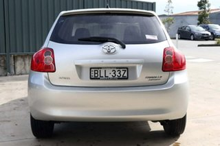 2009 Toyota Corolla ZRE152R MY10 Ascent Silver 6 Speed Manual Hatchback