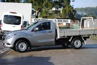 2017 Mazda BT-50 UR0YE1 XT 4x2 Grey 6 Speed Manual Cab Chassis