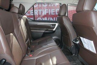 2015 Toyota Fortuner GUN156R Crusade Glacier White 6 Speed Automatic Wagon