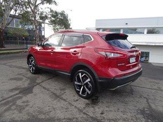 2017 Nissan Qashqai J11 Series 2 N-TEC X-tronic Magnetic Red 1 Speed Automatic Wagon.