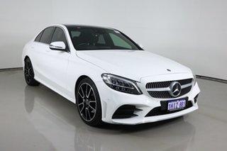 2019 Mercedes-Benz C200 W205 MY20 White 9 Speed Automatic G-Tronic Sedan.