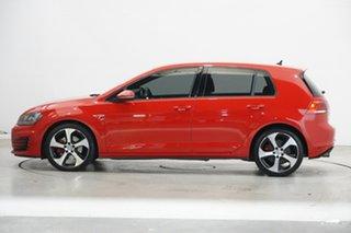 2016 Volkswagen Golf VII MY16 GTI DSG Red 6 Speed Sports Automatic Dual Clutch Hatchback.