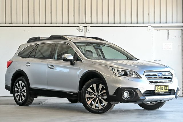 Used Subaru Outback B6A MY15 2.5i CVT AWD Premium Laverton North, 2015 Subaru Outback B6A MY15 2.5i CVT AWD Premium Silver 6 Speed Constant Variable Wagon