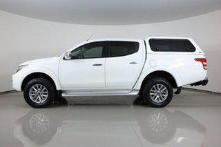 2018 Mitsubishi Triton MQ MY18 GLS (4x4) White 5 Speed Automatic Dual Cab Utility