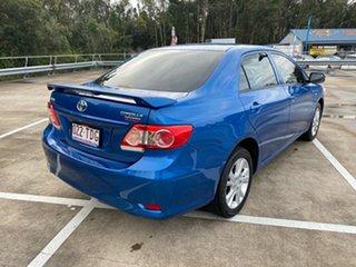 2012 Toyota Corolla ZRE152R MY11 Ascent Sport Blue 4 Speed Automatic Sedan.