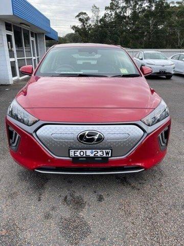 Demo Hyundai Ioniq AE.V4 MY21 electric Premium North Gosford, 2021 Hyundai Ioniq AE.V4 MY21 electric Premium Fiery Red 1 Speed Reduction Gear Fastback
