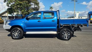 2010 Toyota Hilux KUN26R MY10 SR Blue 5 Speed Manual Utility.