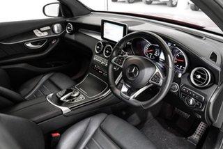 2017 Mercedes-Benz GLC-Class X253 GLC43 AMG 9G-Tronic 4MATIC Red 9 Speed Sports Automatic Wagon
