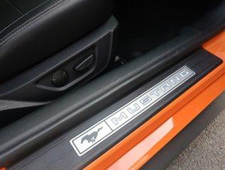 2019 Ford Mustang FN 2020MY GT Orange 6 Speed Manual Fastback