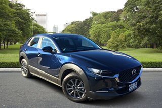 2020 Mazda CX-30 DM2W7A G20 SKYACTIV-Drive Pure Blue 6 Speed Sports Automatic Wagon.