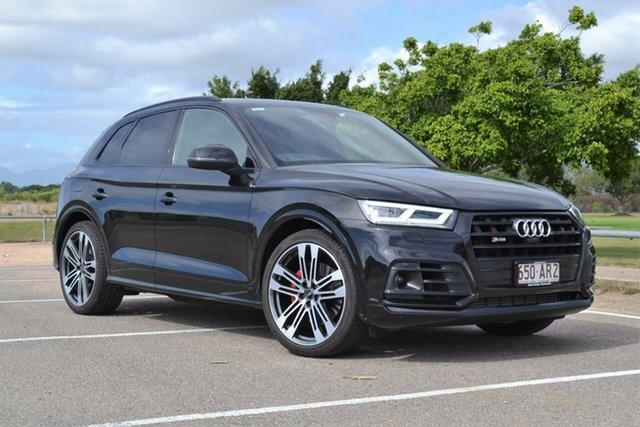 Used Audi SQ5 FY MY20 Tiptronic Quattro Mundingburra, 2019 Audi SQ5 FY MY20 Tiptronic Quattro Black 8 Speed Sports Automatic Wagon