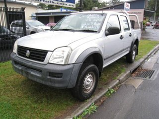 2004 Holden Rodeo RA LX Silver 4 Speed Automatic Crew Cab Pickup.