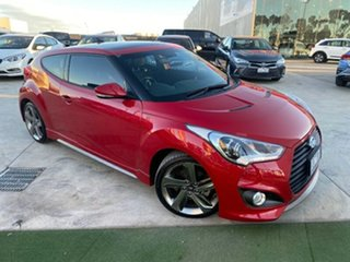 2014 Hyundai Veloster FS3 SR Coupe Turbo Red 6 Speed Sports Automatic Hatchback.