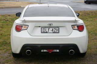 2014 Toyota 86 ZN6 GTS White 6 Speed Manual Coupe
