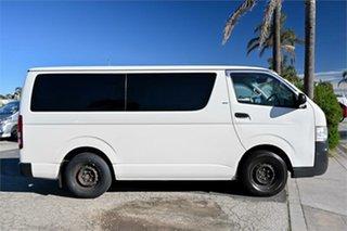 2010 Toyota HiAce TRH201R MY10 LWB White 5 Speed Manual Van