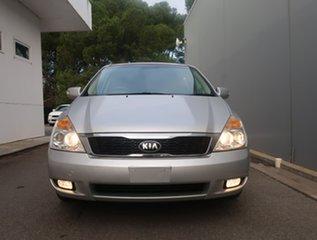 2014 Kia Grand Carnival VQ MY14 SI Silver 6 Speed Sports Automatic Wagon.
