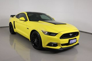 2017 Ford Mustang FM MY17 Fastback GT 5.0 V8 Yellow 6 Speed Automatic Coupe.