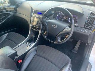 2012 Hyundai i45 YF MY11 Elite White 6 Speed Sports Automatic Sedan