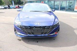 2021 Hyundai i30 CN7.V1 MY21 Elite Intense Blue 6 Speed Sports Automatic Sedan.