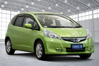 2014 Honda Jazz Hybrid Green 1 Speed Constant Variable Hatchback Hybrid.