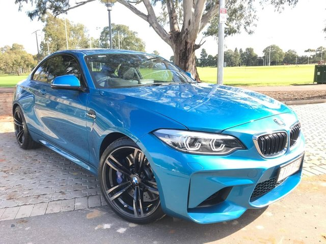 Used BMW M2 F87 LCI D-CT Adelaide, 2017 BMW M2 F87 LCI D-CT Blue 7 Speed Sports Automatic Dual Clutch Coupe