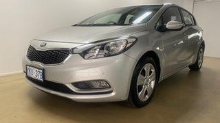 2015 Kia Cerato YD MY15 S Silver 6 Speed Automatic Hatchback