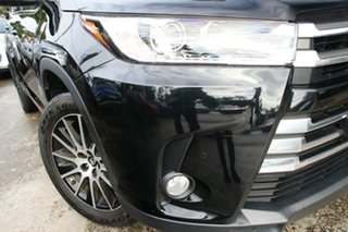2018 Toyota Kluger GSU55R Grande (4x4) Eclipse Black 8 Speed Automatic Wagon.