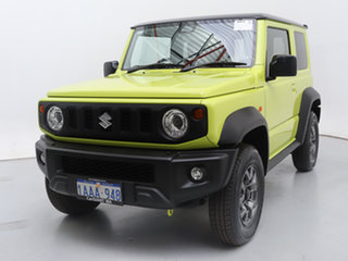 2020 Suzuki Jimny Yellow 5 Speed Manual 4x4 Wagon.