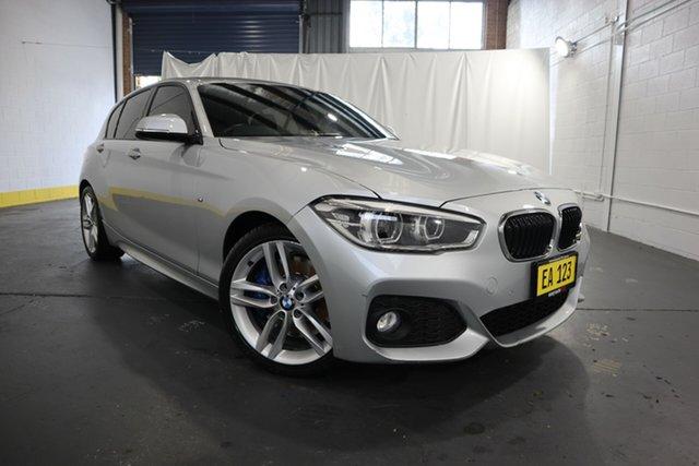 Used BMW 1 Series F20 LCI 125i M Sport Castle Hill, 2015 BMW 1 Series F20 LCI 125i M Sport Silver 8 Speed Sports Automatic Hatchback