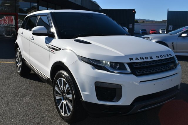 Used Land Rover Range Rover Evoque L538 MY16.5 HSE Wantirna South, 2016 Land Rover Range Rover Evoque L538 MY16.5 HSE White 9 Speed Sports Automatic Wagon