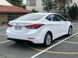 2014 Hyundai Elantra MD3 SE White 6 Speed Sports Automatic Sedan.