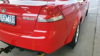 2011 Holden Commodore VE II Omega Red 6 Speed Sports Automatic Sedan