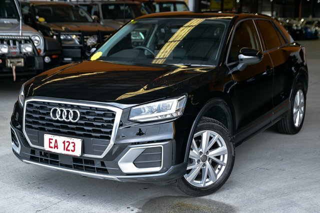 Used Audi Q2 GA MY18 design S Tronic Hendra, 2018 Audi Q2 GA MY18 design S Tronic Black 7 Speed Sports Automatic Dual Clutch Wagon