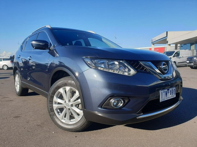 Used Nissan X-Trail T32 ST-L X-tronic 2WD Essendon Fields, 2016 Nissan X-Trail T32 ST-L X-tronic 2WD Blue 7 Speed Constant Variable Wagon
