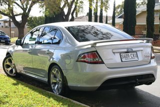 2008 Ford Falcon FG XR6 Turbo Silver 6 Speed Sports Automatic Sedan.