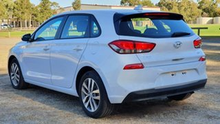 2018 Hyundai i30 PD MY18 Active D-CT White 7 Speed Sports Automatic Dual Clutch Hatchback