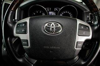 2013 Toyota Landcruiser URJ202R MY13 Sahara (4x4) Silver Pearl 6 Speed Automatic Wagon