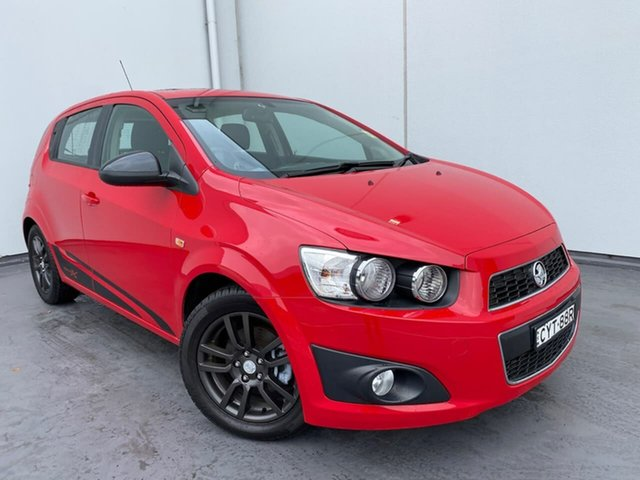 Used Holden Barina TM MY15 X Liverpool, 2015 Holden Barina TM MY15 X Red 6 Speed Automatic Hatchback