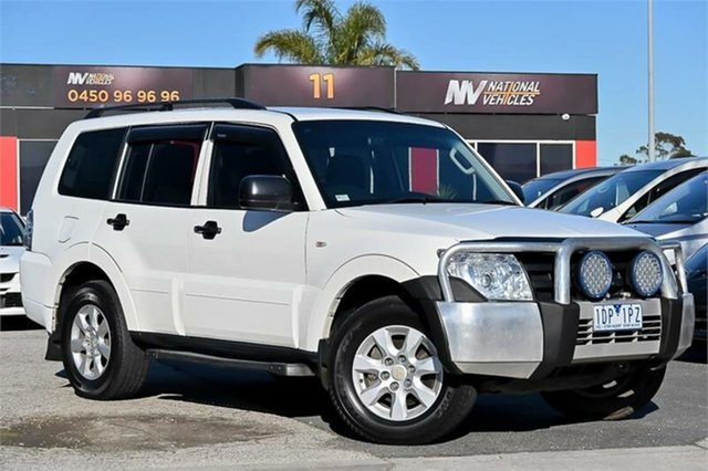 Used Mitsubishi Pajero NT MY11 GLX Braeside, 2011 Mitsubishi Pajero NT MY11 GLX White 5 Speed Sports Automatic Wagon