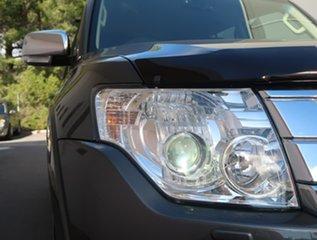 2014 Mitsubishi Pajero NX MY15 GLS Grey 5 Speed Sports Automatic Wagon.