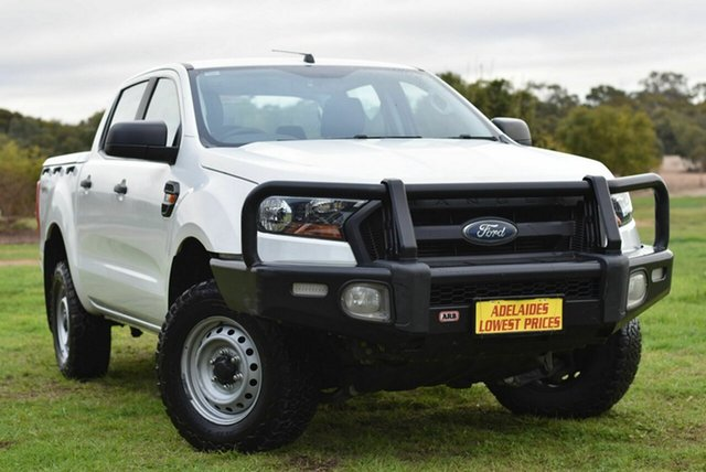 Used Ford Ranger PX MkII XL Enfield, 2016 Ford Ranger PX MkII XL White 6 Speed Manual Utility