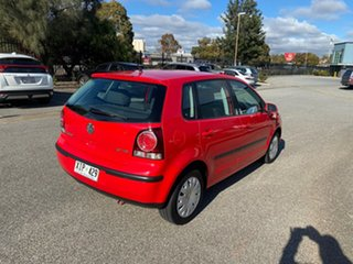 2006 Volkswagen Polo 9N MY2006 TDI Red 5 Speed Manual Hatchback