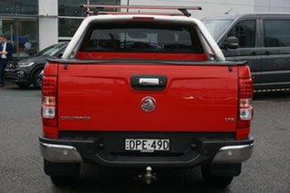 2017 Holden Colorado RG MY17 LTZ Pickup Crew Cab Red 6 Speed Manual Utility